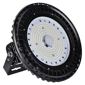 UFO LED Hallenleuchte Fabriklampen, Kageli® Industrie High Bay Light Flutlicht, Pendelleuchten, Industriebeleuchtung, Super Hell Wasserdicht, Abstrahlwinkel 120°,Kaltweiß 6000K (150W)