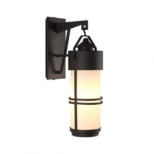 YU-K Antike Edisoindustrial style Wand LampeWandwasserdichte Outdoor Patio lampe glas Passage s ist für Terrasse GarteAußenOutdoor Terrasse Zauwasserdicht Licht ideal