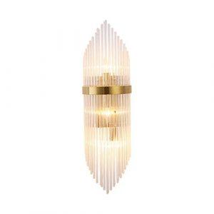 BEN-YI Creative Indoor Living Room Wandleuchte Nachttischlampe mit LED-Kristallwandleuchte Creative Postmodernes europäisches Hotel Energiesparwandleuchte LED [Energieklasse A + +] -5189Wandleuchten