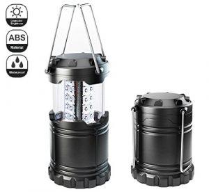 Campingwise ® Tragbare LED-Outdoor Camping Lampe. Wasserbeständig, nachhaltig und sehr hohem licht ertrag