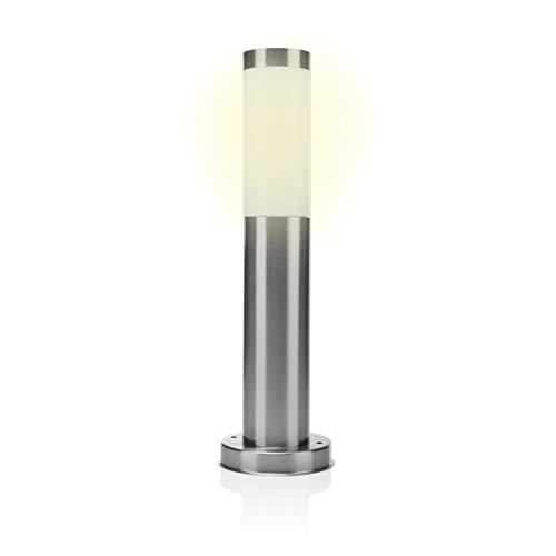 Smartwares RX1010-45 Gartenleuchte – E27 Sockel – Edelstahl – IP44