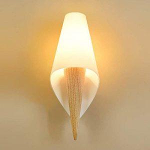 Lxc Warm Moderne Art-Wandlampe weißes Glas für Nachttischlampen-Weg, der Schlafzimmer-Wohnzimmer speist Beleuchten Sie Ihr Zuhause