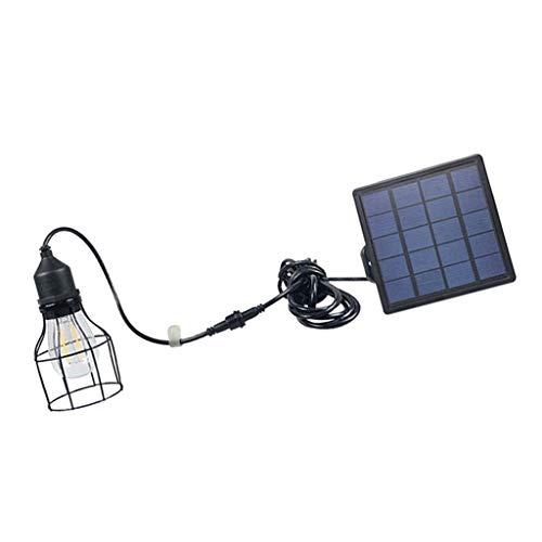 KESOTO Solar Vintage Taschenlampe Käfig Hängelampe Außenlampe - B#