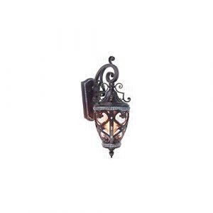 Mogicry Europäischen Stil Kreative E27 Wasserdichte Beleuchtung Wandleuchte Haushalt Kommerziellen Innendekoration Schlafzimmer Nachttischlampe Beleuchtung Aluminium Glas Regendichte Wandleuchte