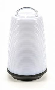 Bubble-Store LED-Tischlampe mit Touchfunktion, 24-LEDs, 3 Helligkeits-Stufen, On-OFF-Schalter, Batteriebetrieb, weiß