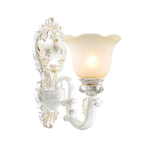 Wasserdichte Wandlampe für den Außenbereich ZS, Wandleuchte, Wohnzimmer, Nachttischlampe Korridor Gang, Europäische Wandleuchte, Lampe Treppe, Hintergrundwandleuchte. (Größe: 2lamp48 * 35 cm)