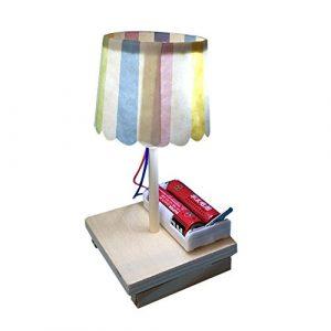 muxiao Weihnachtsdekoration, Schreibtischlampe aus Holz, Mehrfarbig, Nachtlicht, magische Dekoration, Romantisches Licht