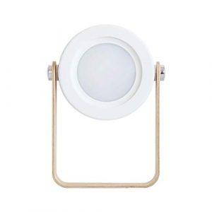 ►WTD-Creative Laterne-Nachtlicht-Desktop-USB-Klapp-Büro-Nachttischlampe im Freien tragbare Tischlampe (Farbe : B)