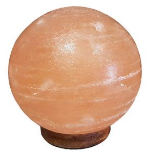 SudoreWell® Salzkristall Lampe Salzlampe Sonne/Planet Ø 18 cm