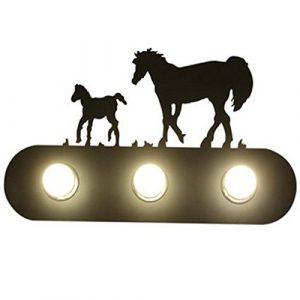 YU-K Antike StyleWand Lampe industrielleWohnzimmer Schlafzimmer Persönlichkeit Spiegel vor das Bett TreppeWand Licht ist für eiHaus bar und Restaurant Cafe Club,60 * 30,5cm