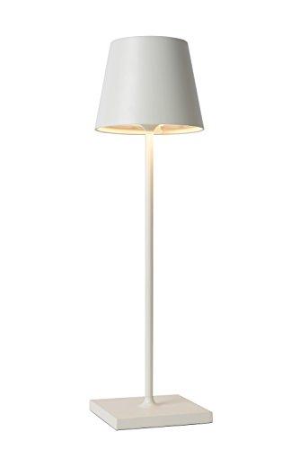 Lucide JUSTIN Tischlampe, Aluminium, 0 W, Weiß