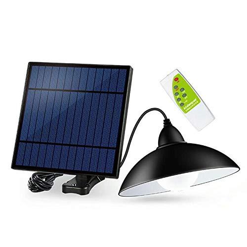 Starnearby Solarlampen für Außen, Solar Hängeleuchte mit Fernbedienung, Tragbare Solarleuchte, Solar Pendelleuchte Hängelampe