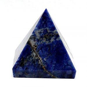 echtem Edelstein feine Qualität Pyramiden metaphysisch Kristall Pyramiden (Sodalith)
