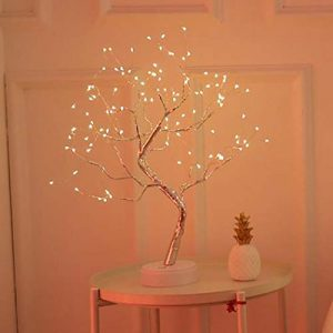 kaimus LED Starry Lichterketten Pearl Tree Tischlampe Schlafzimmer Party Home Decoration Tisch- & Nachttischlampen