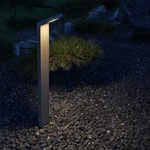 CLGarden LED Außenstandleuchte ASL1 anthrazit Wegeleuchte aussen Standleuchte Pollerleuchte