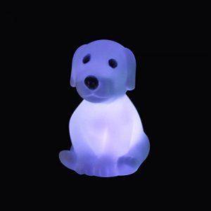 Bodhi2000 LED-Schreibtischlampe in Hundeform, mit Farbwechsel Multi