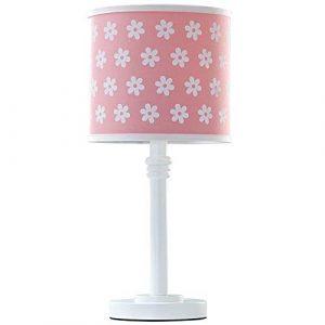 MAONB Kreative Blume Cartoon Kinderzimmer Nachttischlampe Moderne Einfachheit Mädchen Beleuchtung Multifunktions Dekorative Schreibtischlampe Weiße Blumen Schreibtischlampe Frische Weiche Leselampen