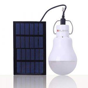 KK.BOL Solar Glühbirne solarlampe Garten Solar-leuchten Solar Lampe Innen Camping Glühbirne Solar Led Lampe außen