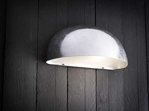 Nordlux Downlight, Metall, E27, 60 W, grau, 27 x 13.5 x 13 cm