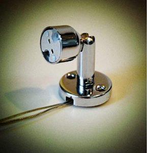 AiCheaX Schreibtischlampe/Standleuchte/Thekenstrahler/Vitrinenstrahler Halterung MR16 / GU5.3 Sockel 20ST