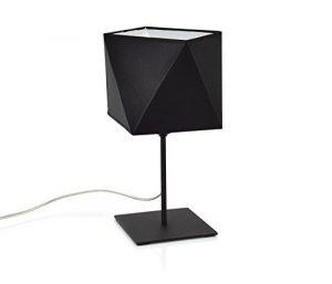 299 Deckenleuchte Tischlampe Hängelampe Wandlampe Lampe (Tischlampe L1, Lampenschirm Schwarz)