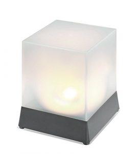 Solarleuchte Cube 3500K neutralweiß, Esotec 102671