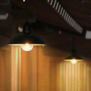 Outdoor Hängende solarbetriebene Shed Light Pendelleuchte für Garten Hof Terrasse Balkon Haus Landschaft