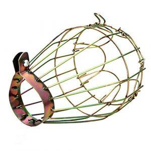 SYN Lampenabdeckungen zum Aufhängen, Eisendraht, Lampenschutz, Klemme aus Metall