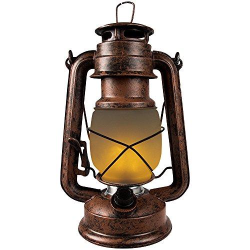 LED Sturmlaterne dekorativ Flammeneffekt Feuer Fackel Batterie dimmbar hochwertig & realistisch
