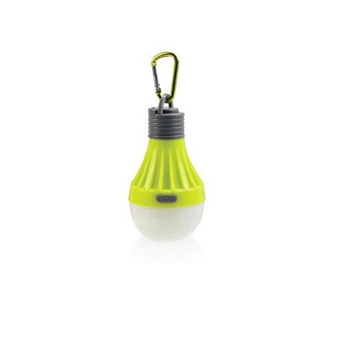 Be82aene 1W bewegliche hängende LED-Kugel Camping-Zelt-Glühlampe im Freien wandernden Fischen Laterne Nachttischlampe Leicht und (Farbe : Grey)
