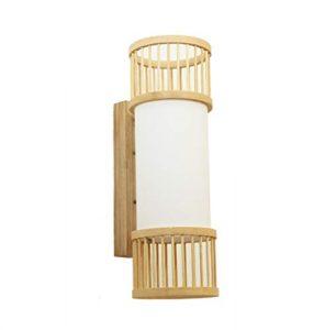 GMUSHENKreative wandleuchte hotel nachttischlampe schlafzimmer treppe wandleuchte gang flur bambus lampe 13,5 * 40 CM