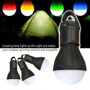 SET-SAIL Solar Camping Garten Nachtlicht Haken Hängeleuchte Zelt Licht LED Nachtlicht schwarz